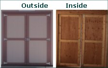 Double Wooden Doors & The Original Shed \u0026 Garage Company - Accessories 2